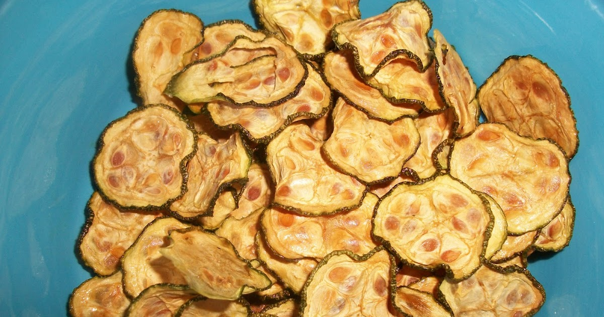 Sandy S Kitchen Zucchini Chips