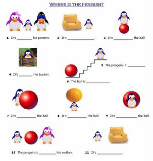 Printable games and activities for prepositions DUŠAN ČECH