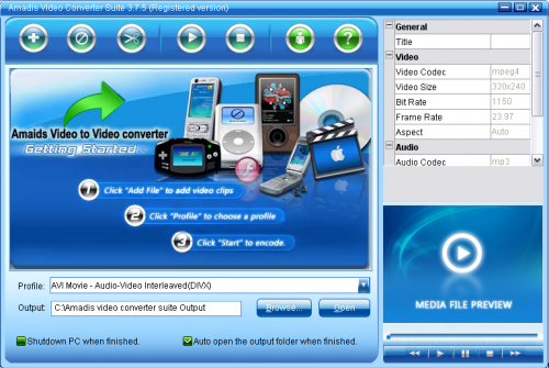Download Amadis DVD and Video to iPhone iPod Apple TV ...