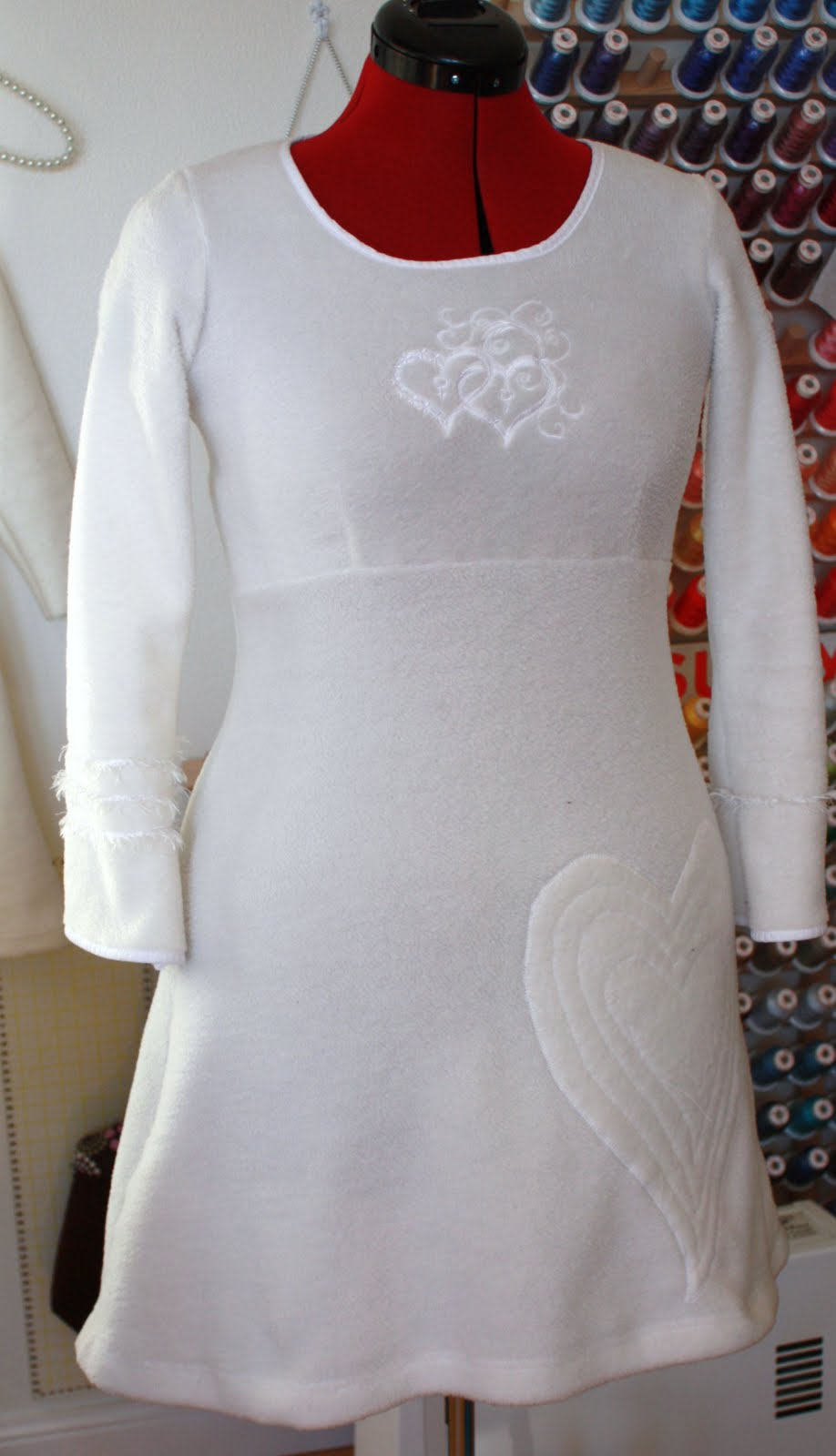 d16b7ef2 Tonje Sara: En hvit kjole til meg selv.