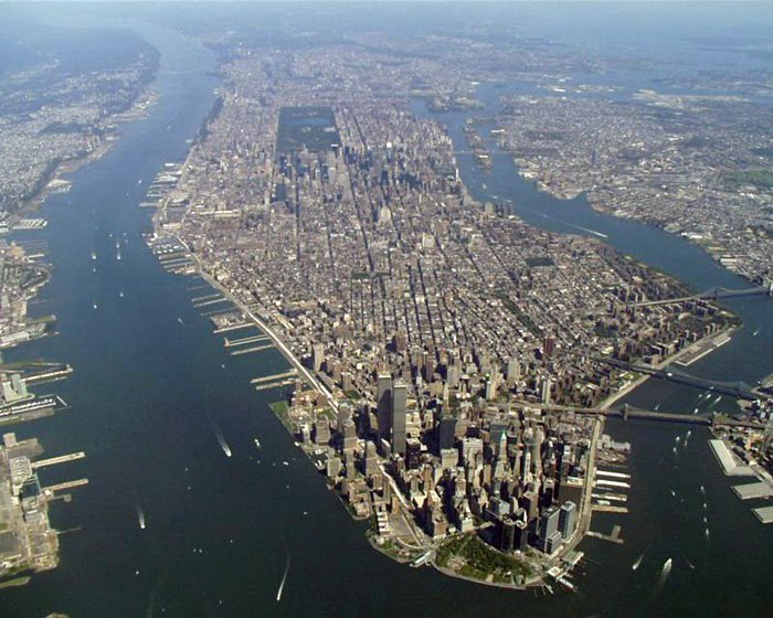 Manhattan by air