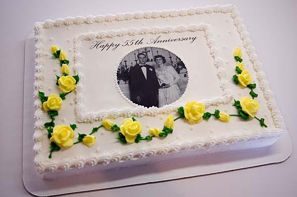 Decorated Slab Cakes