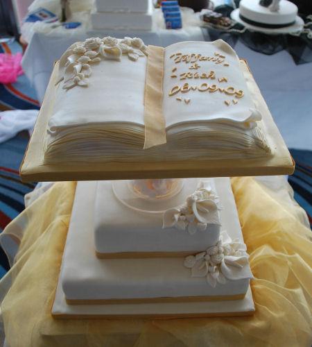Books Wedding Cakes Wedding Ido