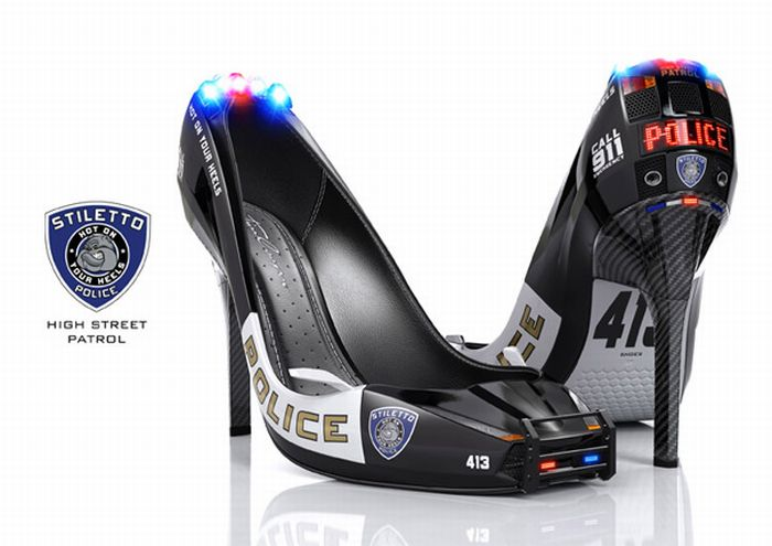 Curious to see this Police Heels