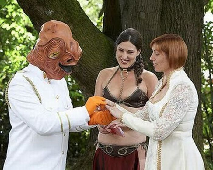 Unusual weddings: 35