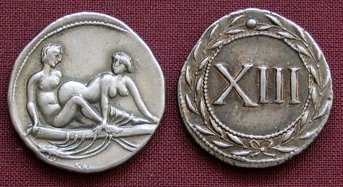 Roman token used(may) to pay prostitutes