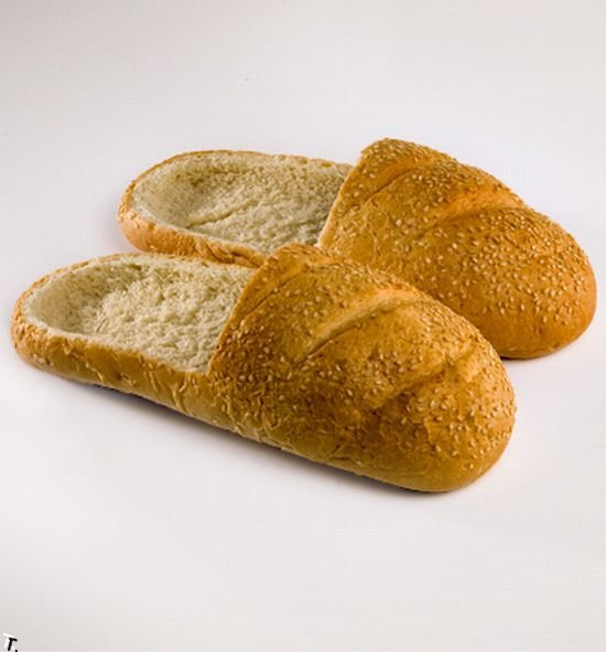 Bread Shoes: 16