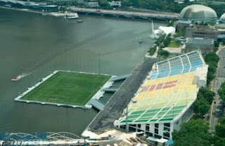 Marina Bay Floating Stadium Singapore