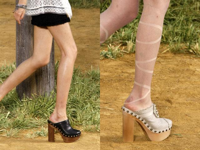 Stella Mccartney Platform Shoes Tigers Uk