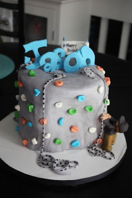 Christie S Cakes Rock Climbing Birthday