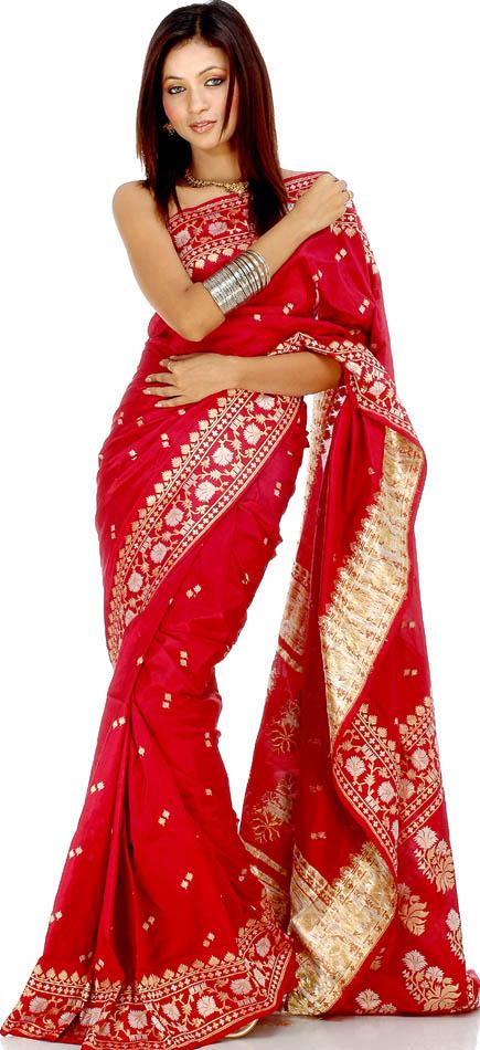 style wallpaper Contoh Sari India