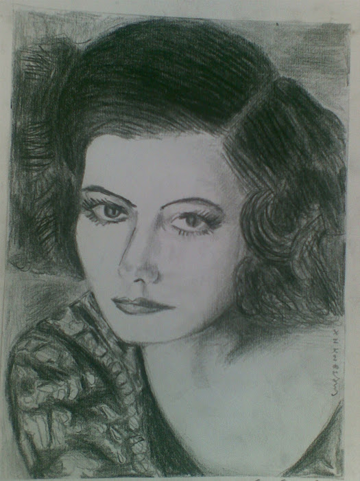 Greta Garbo [ paintings ]