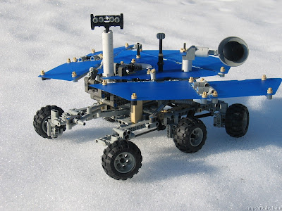 what makes the mars rover and explorer - photo #25