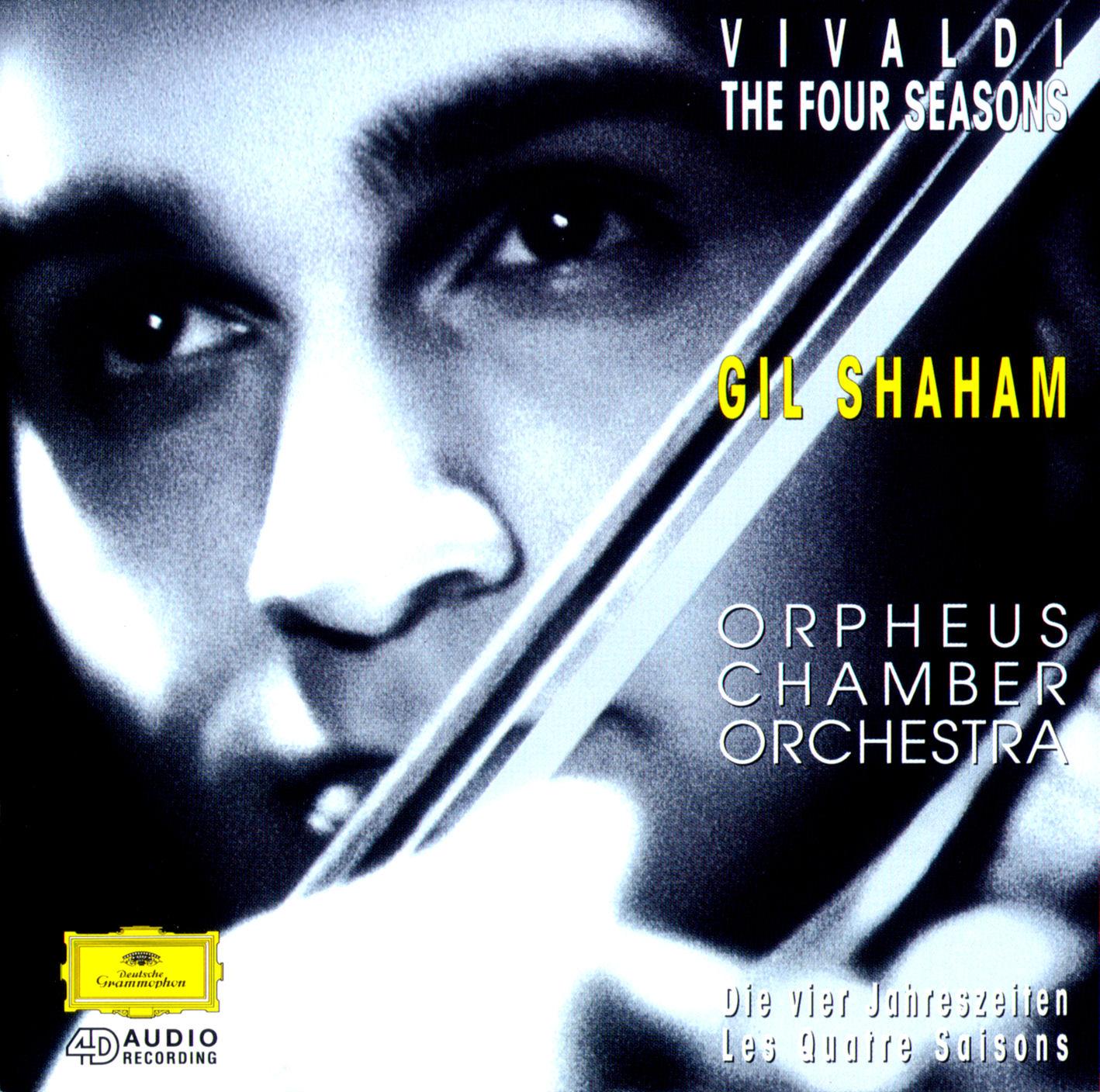 Vivaldi The Four Seasons Orpheus Chamber Orch Shaham