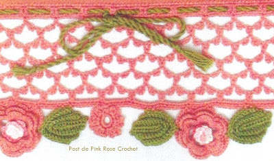 [Barra + Flores + Croche + - + ganchillo + flor +-Pink + rose.jpg]
