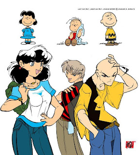 Lucy Her Brother Linus And The Man Charlie Brown