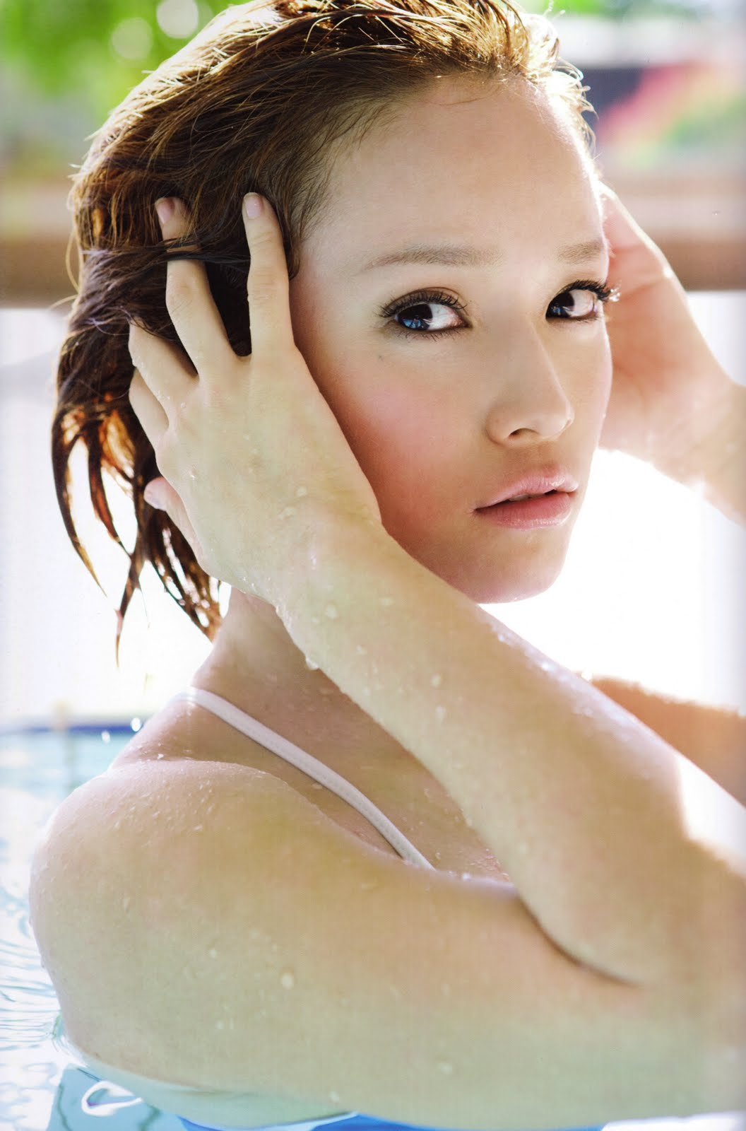 Kamei Eri In Gym And Swimming Pool Amy Solutions