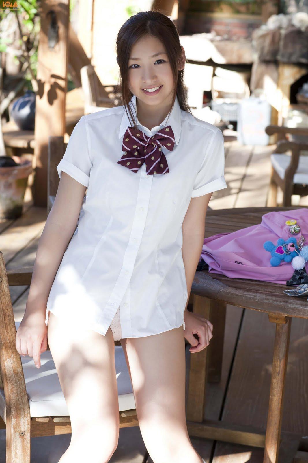 Ayaka Sayama In School Uniform  Asian Girls Sexy-8500