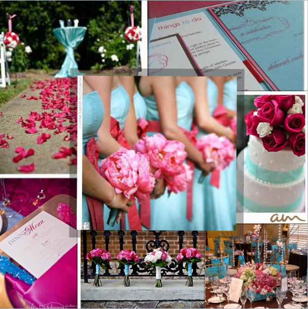 Blue Wedding Ideas Themes: Bella Blogs: Musings Of A Wedding & Event Planner