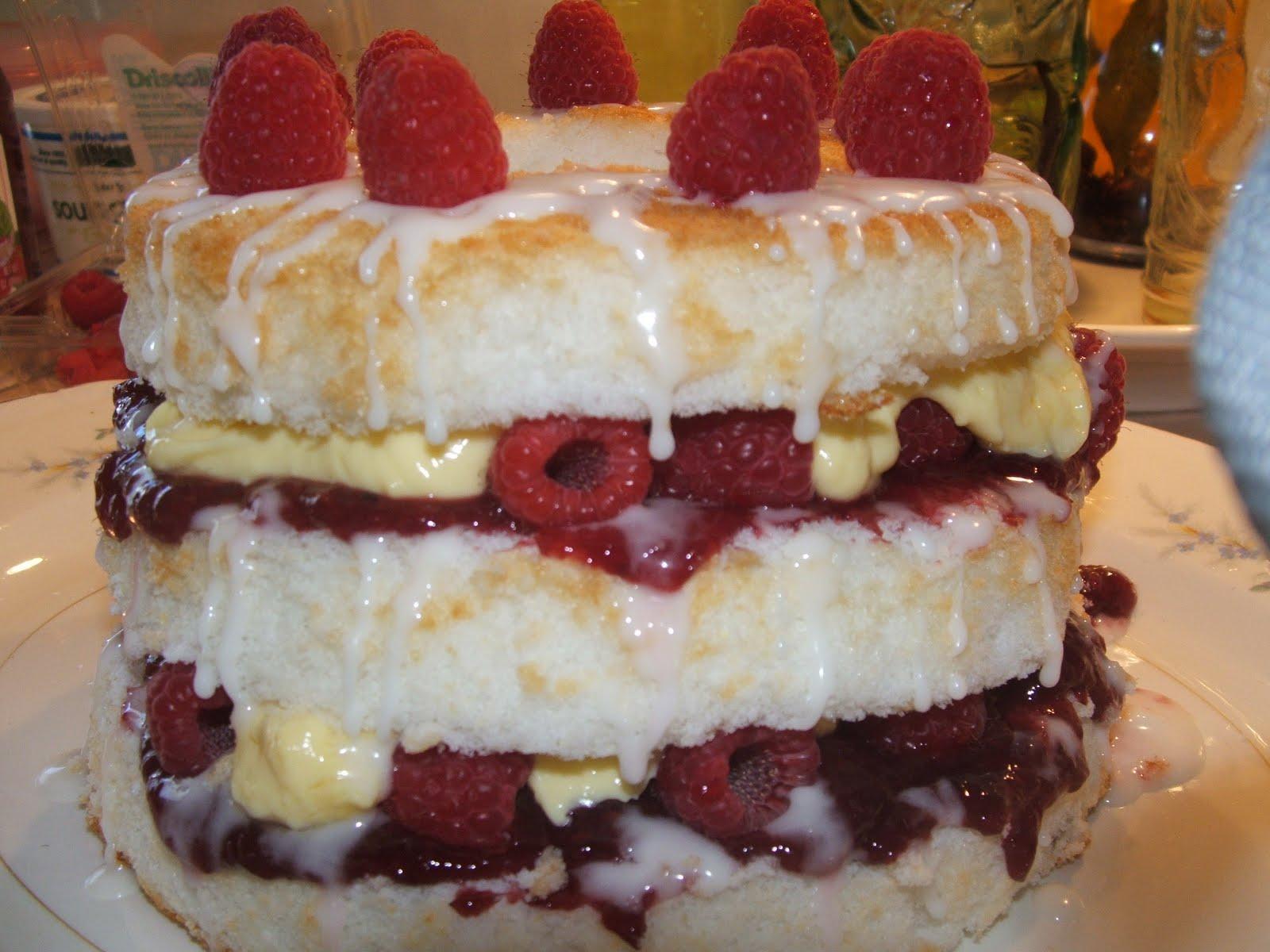 Heaven's Walk: Raspberry-Lime Birthday Cake at Heaven's Walk