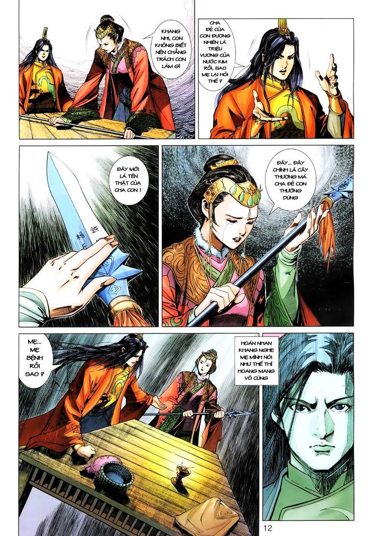 Anh Hùng Xạ Điêu anh hùng xạ đêu chap 15 trang 11
