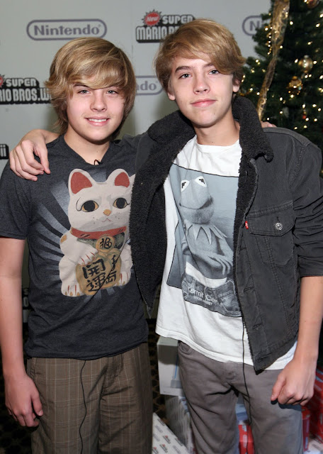 On The Teen Beat: Hot Shotz!: Dylan and Cole Sprouse