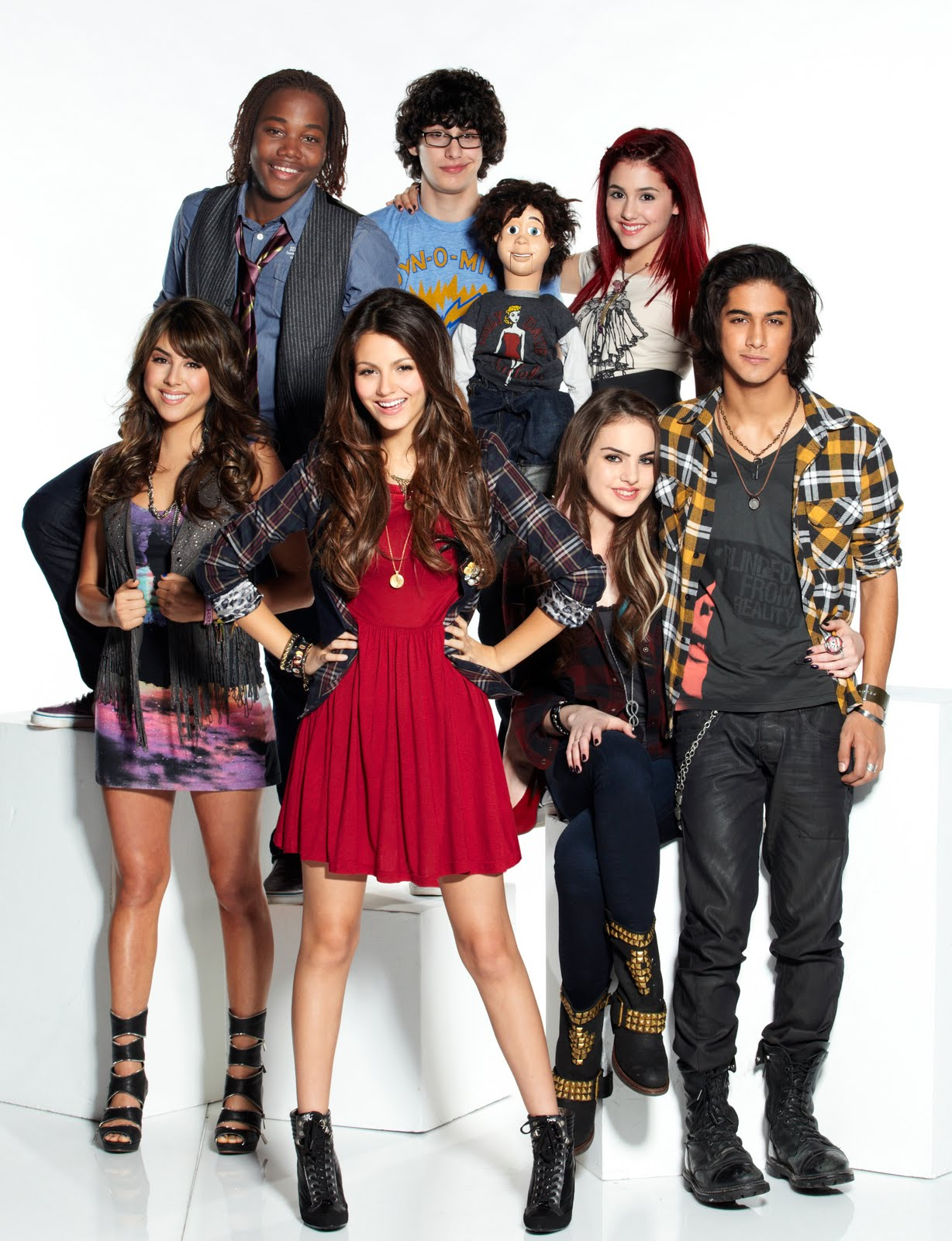 cast Victorious girls