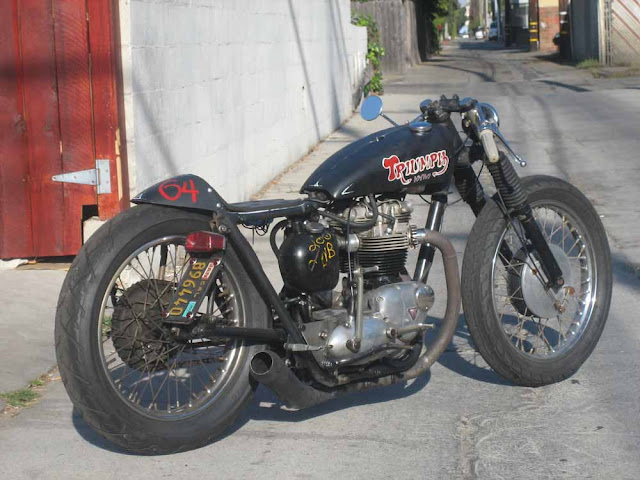 garage company - triumph cafe racer ~ return of the cafe racers