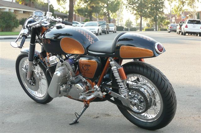 finding parts for your cafe racer #2 ~ return of the cafe racers