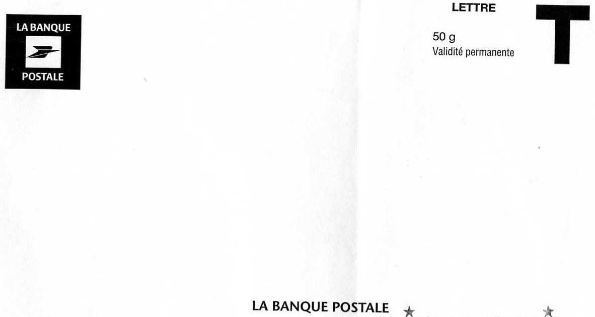 jcv philatelie courrier pour le compte de la banque postale. Black Bedroom Furniture Sets. Home Design Ideas