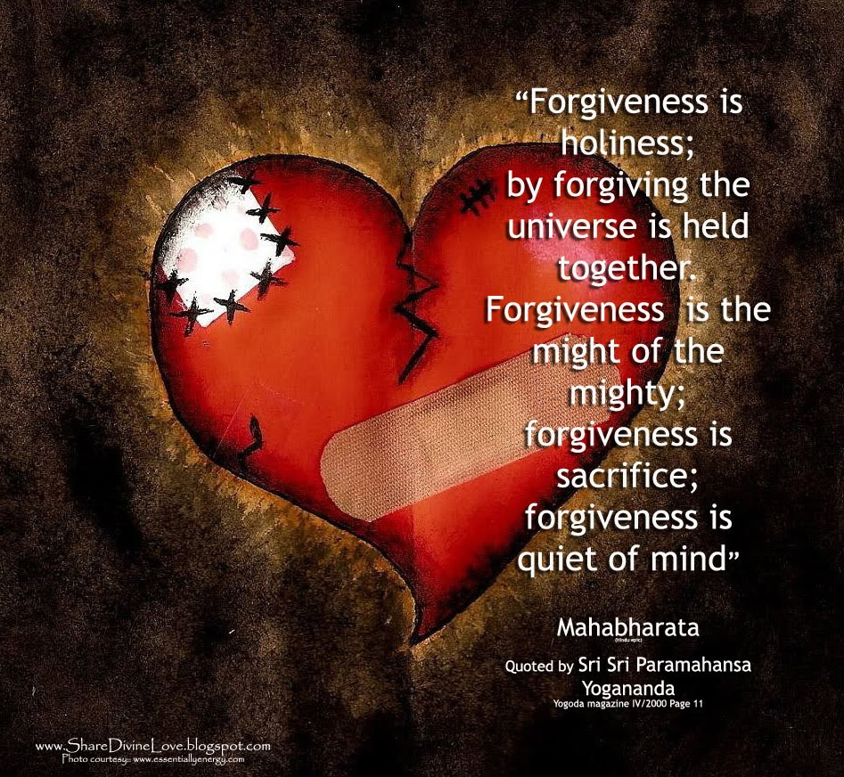 Forgiveness Is Divine Quote: Share Divine Love: JG:Daily Spiritual Wallpaper (cli