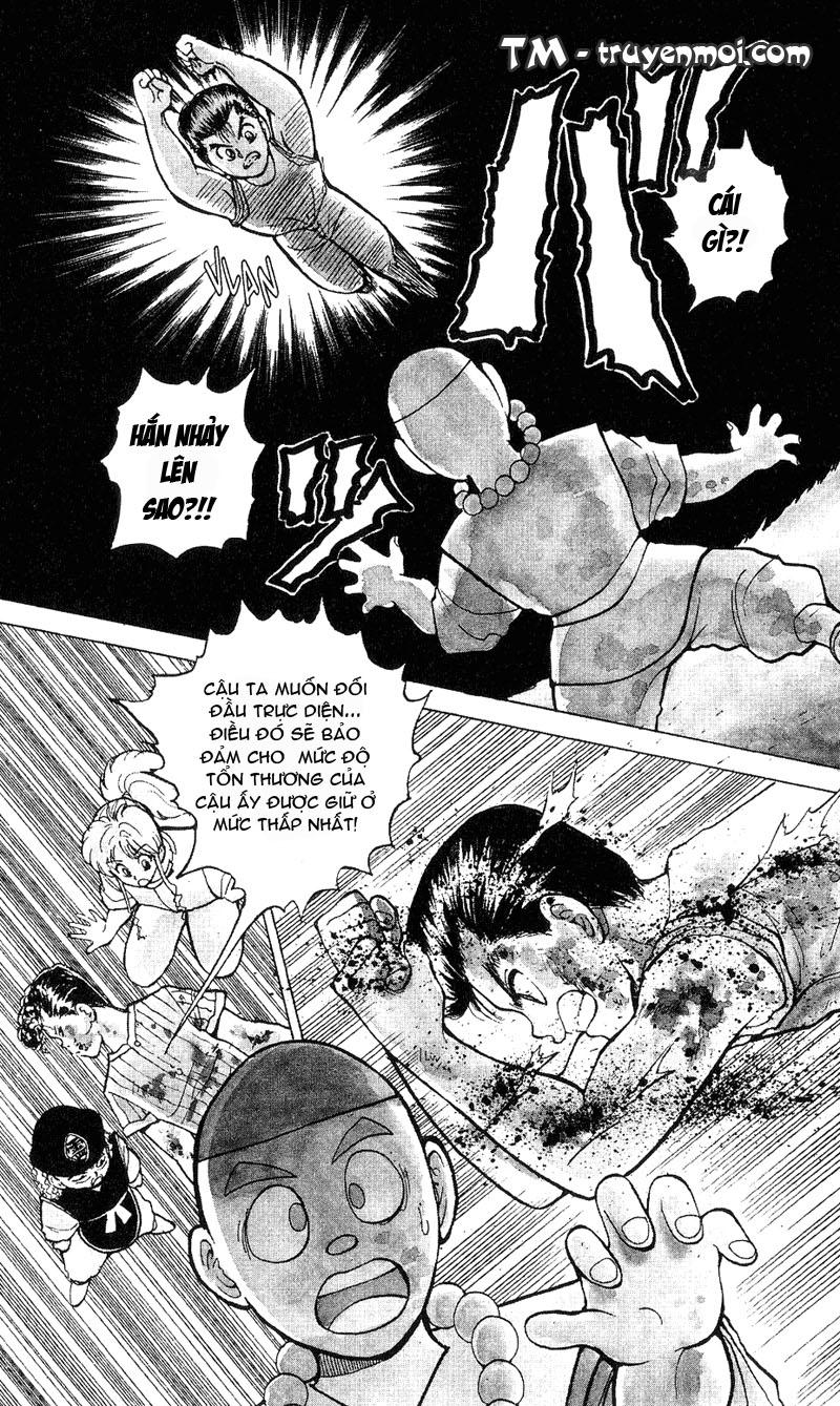Hành trình của Uduchi chap 031: cú đấm phẫn nộ trang 9