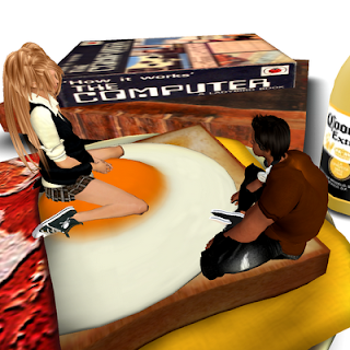 Off Brand Furniture In Second Life Bread Bed