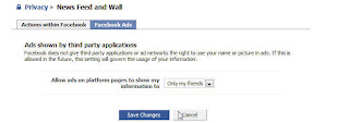 Facebook Updated my Privacy Settings for me.  Notice its OFF