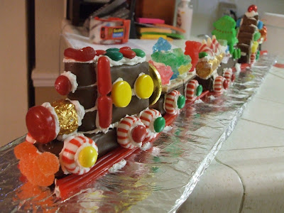 Christmas Candy Train.The Hungry Bookworm 12 Days Of Christmas Candy Train
