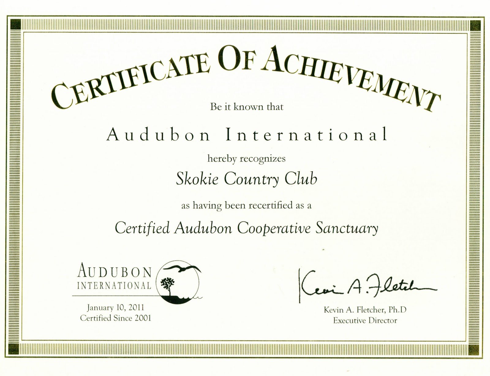 cross country certificate templates free - skokie country club golf course management skokie cc