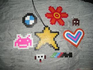91c29739c3ea Estas son las primeras cosillas que hice  la estrella la hice para un amigo  (la iba a poner en el retrovisor del coche