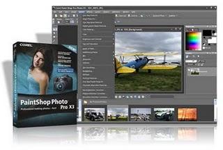 Download Corel PaintShop Photo Pro X3 13.2.0.41  Edição de Imagem