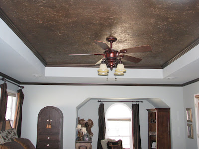 Fall Ceiling Wallpaper Tissue Paper Faux Finish 101 A Tutorial