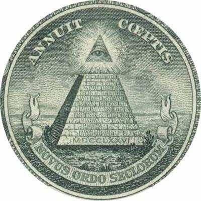 Artistas iluminatis e a pose de ''OLHO DE HÓRUS''