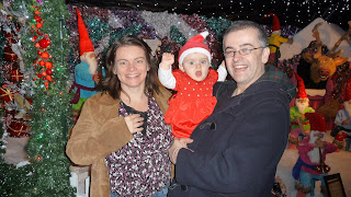 Sue, Em and I at Santa's Grotto