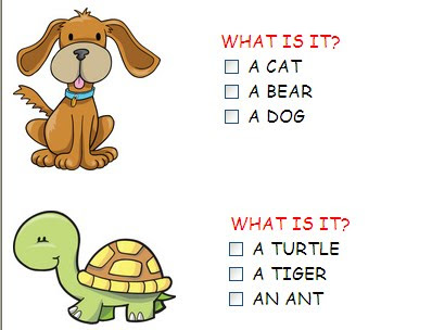 english is fun year 1 exercises about animals