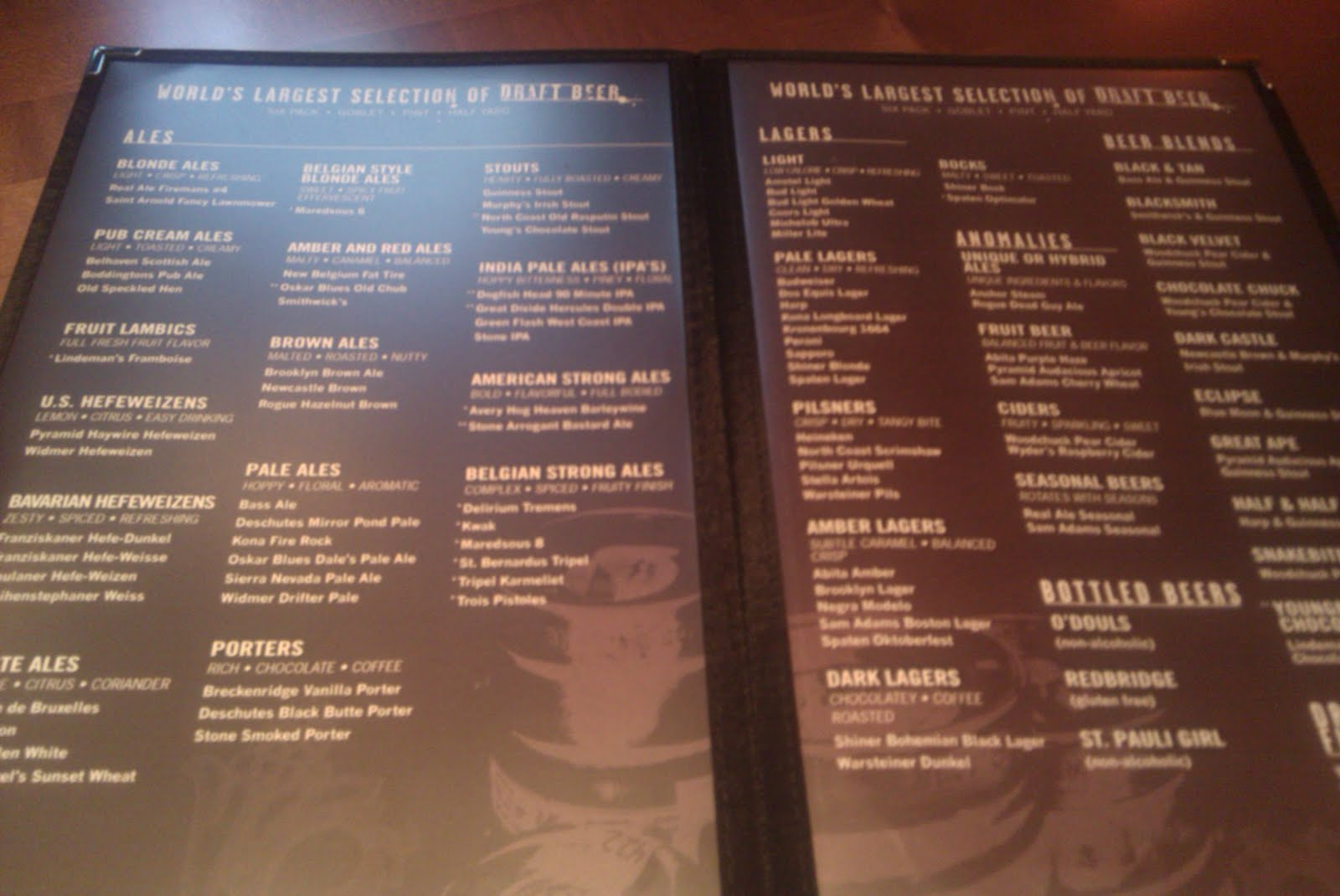 All Good Beer Houston Yard House Review