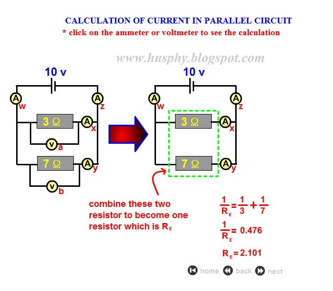 Current In Parallel Circuits 2
