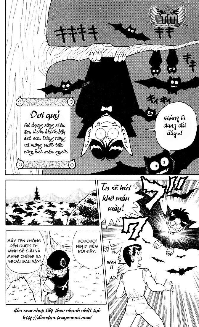 Hành trình của Uduchi chap 026: khu rừng ma quỷ trang 16