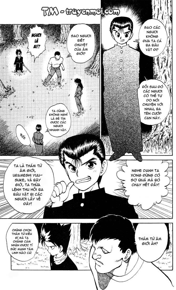 Hành trình của Uduchi chap 020: ba tên trộm trang 11