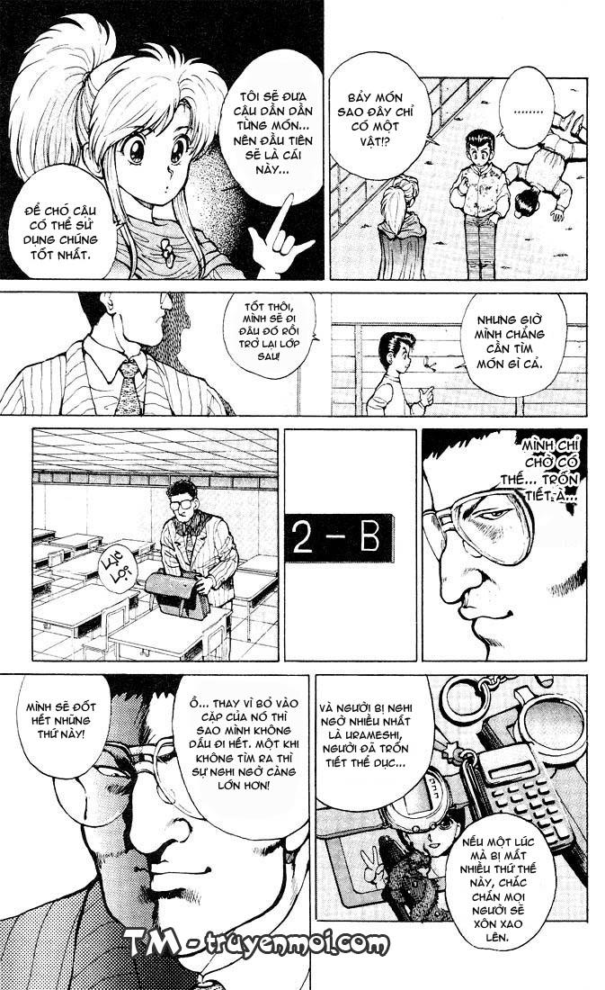 Hành trình của Uduchi chap 019: nhất dương chỉ trang 9