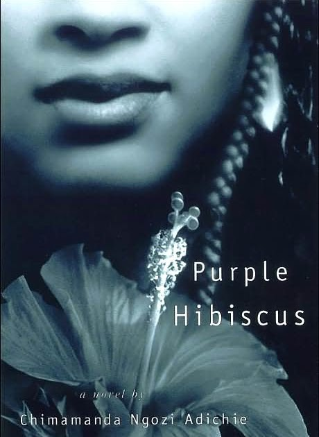 She Treads Softly Purple Hibiscus