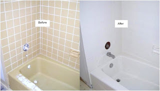 Do You Have Unsightly Or Damaged Tiles In Your Bathroom Or Kitchen? Looking  To Replace It? Refinishing Your Tile Bathtub Surrounds Or Ceramic Tile On  Your ...