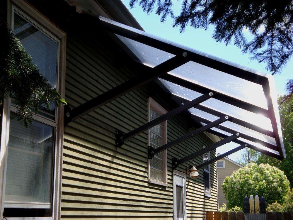Transparent Awning For Home Design